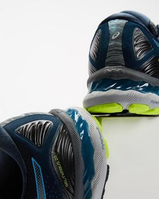 ASICS GEL Nimbus 23   Men's - Performance Shoes (Carrier Grey & Digital Aqua)