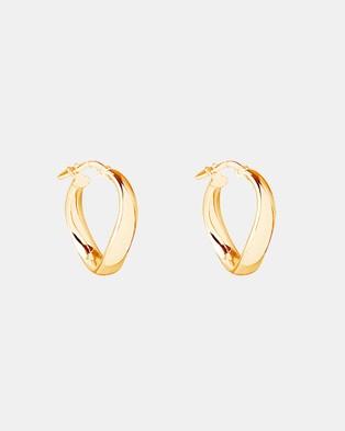 Najo Eddy Hoops - Jewellery (Yellow Gold)