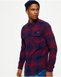 Superdry - Milled Flannel Shirt