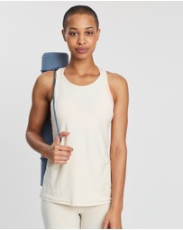Beyond Yoga - Lightweight Crossed-Back Tank
