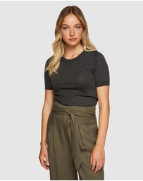 Oxford - Kaitlin Short Sleeve Knit