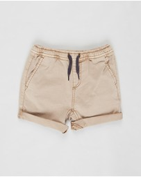Cotton On Baby - Finn Woven Shorts - Babies