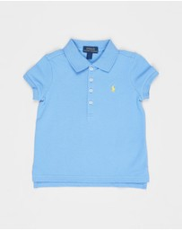 Polo Ralph Lauren - Short Sleeve Knit Stretch Mesh Polo Shirt - Kids
