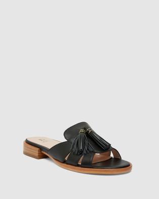 Jane Debster Taboo - Flats (BLACK)