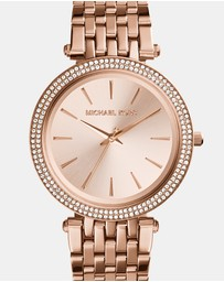 Michael Kors - Darci Rose Gold-Tone Analogue Watch
