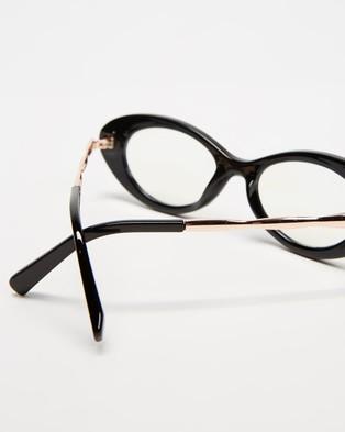 Reality Eyewear High Society   Blue Light Lens - Optical (Black)