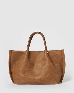 Urban Originals Hamilton Tote - Handbags (Tan)