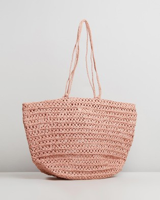 Sans Arcidet Paris Jose Bag Large - Handbags (Powder Pink)