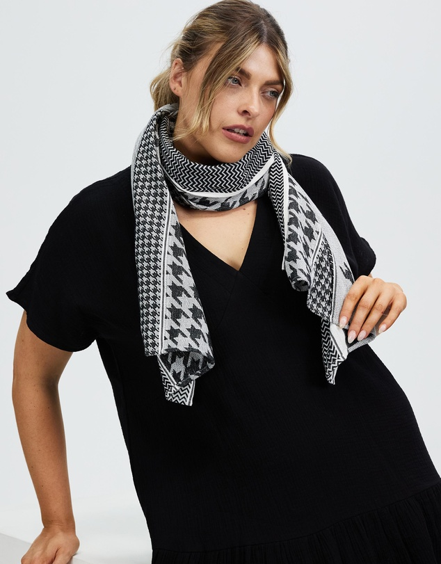 Women Iconic Exclusive - Dogtooth Scarf