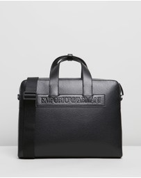 Emporio Armani - Maxi Pebble Briefcase