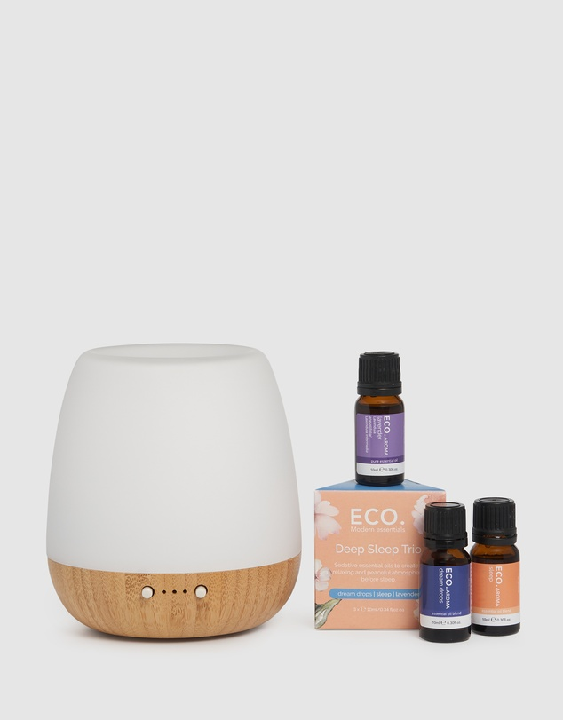 ECO. Modern Essentials - ECO. Bliss Diffuser & Deep Sleep Aroma Trio