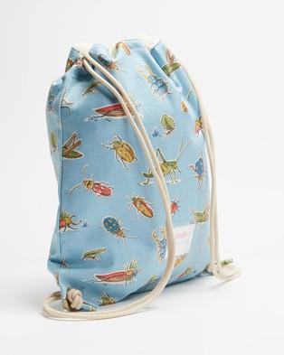 Cath Kidston Drawstring Bag   Kids - Backpacks (Bugs)