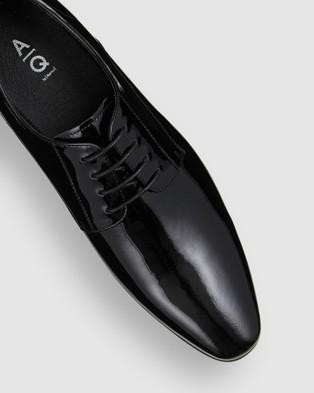 AQ by Aquila Drew Dress Shoes - Dress Shoes (Patent Black)