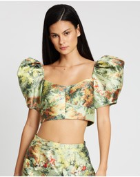 alice McCALL - Voodoo Sky Crop Top