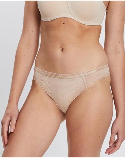 Chantelle Courcelles Spacer Brazilian Briefs Nude