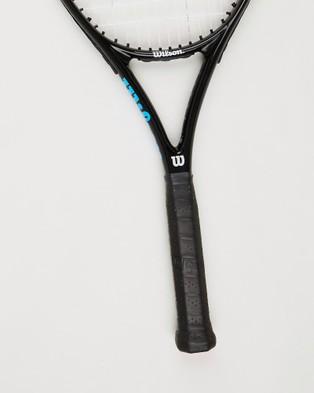 Wilson Ultra Power Pro 105 Tennis Racket - Sports Equipment (Black & Blue)