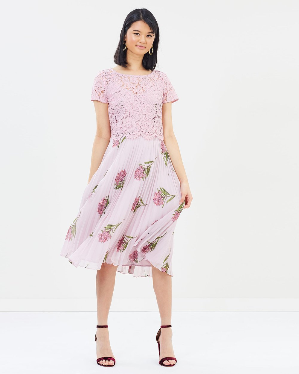 NHM Lace Midi Dress by Oasis Online  9de88fc2b