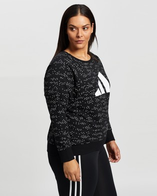 adidas Performance Winners Crew - Crew Necks (Black)