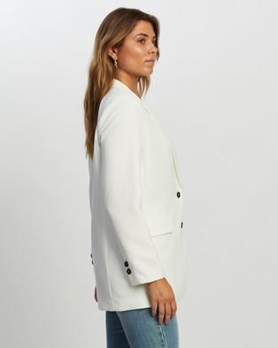 Atmos&Here Noele Blazer - Blazers (White)