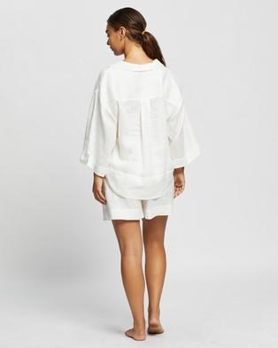 Homebodii Riviera PJ Set - Two-piece sets (White)