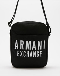 Armani Exchange - Canvas Crossbody Bag