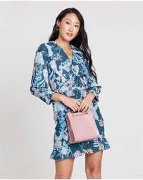 Cooper St - Pine Grove Twist Mini Dress