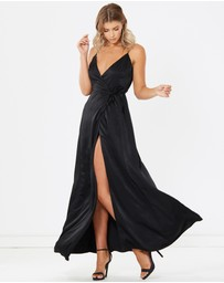 Calli - Mya Silky Maxi Dress