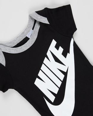Nike Futura Logo Boxed Set Babies Headwear Black