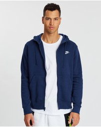 Nike - Club Full-Zip Fleece Hoodie