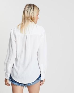 DRICOPER DENIM Valiant Loose Shirt - Tops (White)