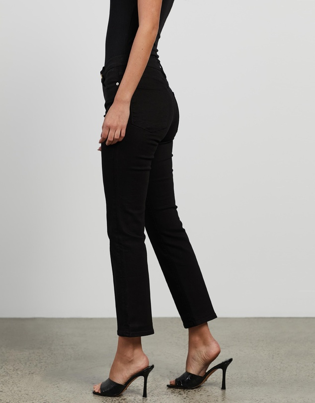 Women Le High Straight Jeans