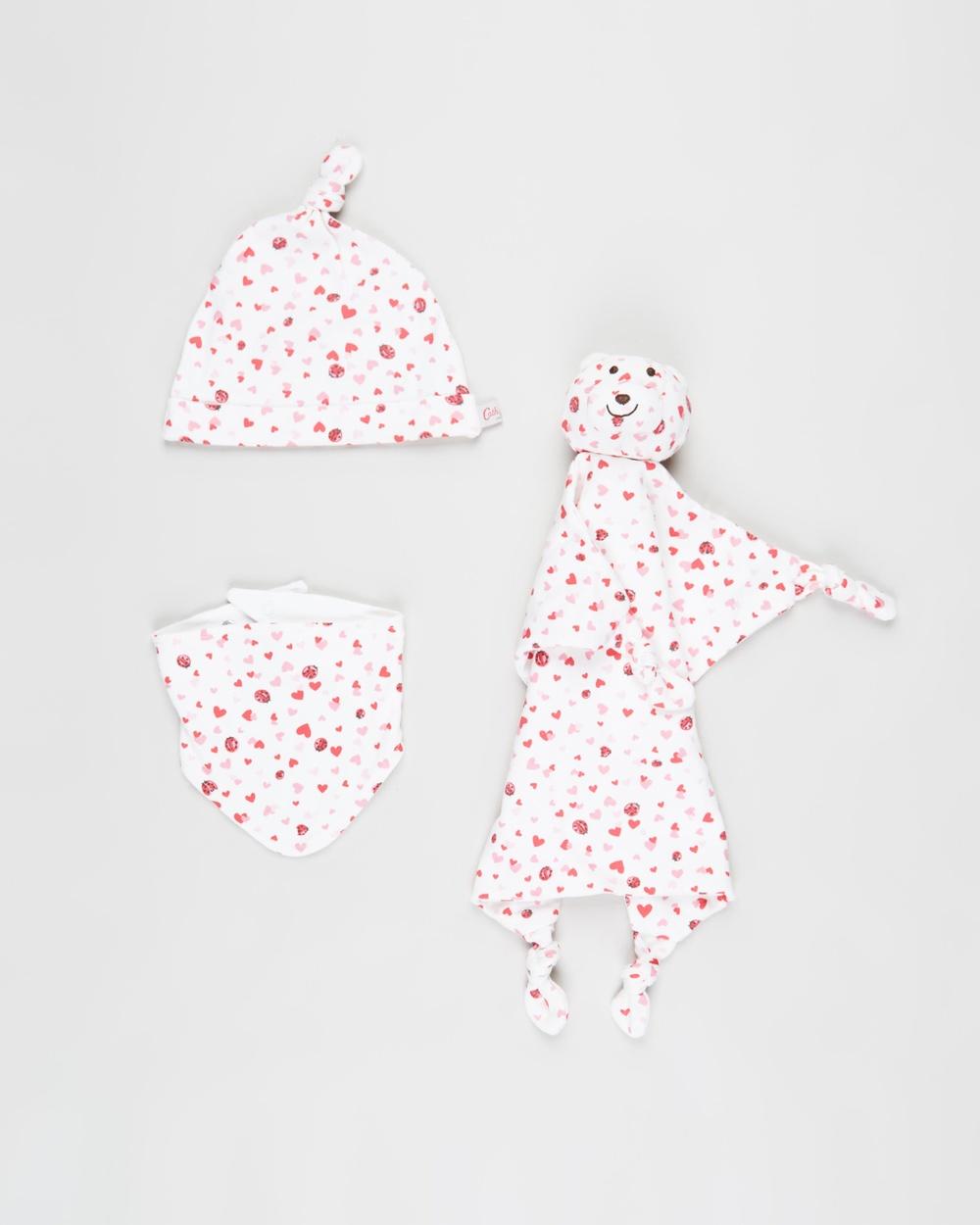 Cath Kidston Baby Accessories Gift Set Bibs Mini Lovebugs