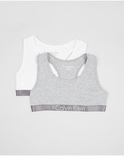 Calvin Klein - 2-Pack Customised Stretch Bralette Set - Teen