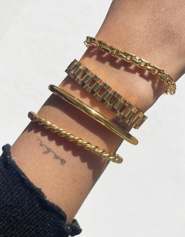 Women Dylan Gold Bracelet - Medium