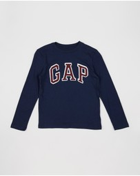 GapKids - Long Sleeve Logo Tee - Teens