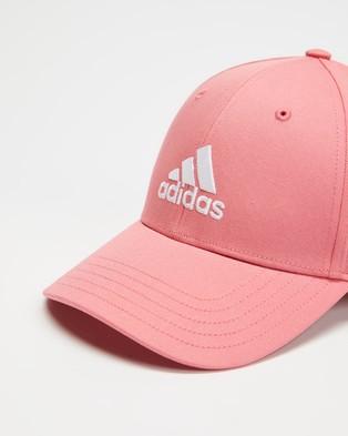 adidas Performance Baseball Cap   Unisex - Headwear (Hazy Rose & White)