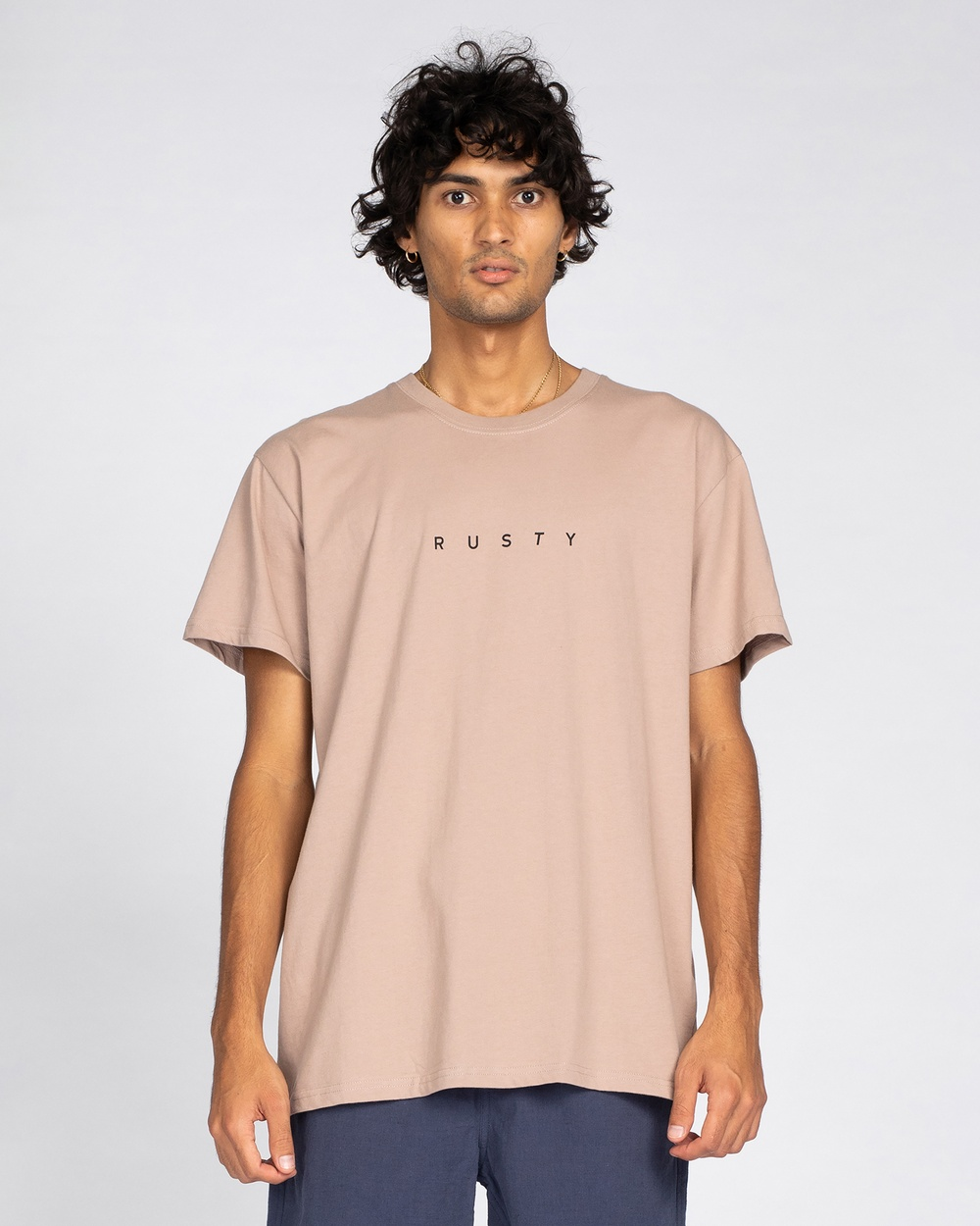 Rusty - Short Cut Short Sleeve Tee - T-Shirts & Singlets (MSH) Short Cut Short Sleeve Tee