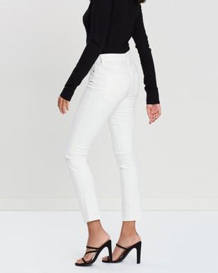 Elvie & Leo The 7 8 Skinny Jeans Crop Off White 7-8