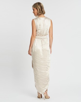 Esther Luxe Iris Dress - Bridesmaid Dresses (Champagne)