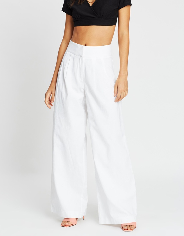 Dazie - Say It Super Wide Leg Pants