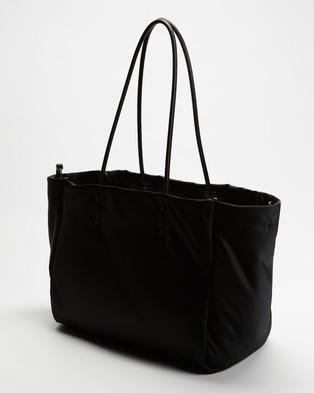 Kate Spade Everything Puffy Cat Large Tote - Handbags (Black)