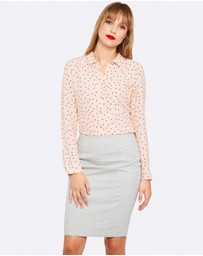 Oxford - POPPY SHIRT WITH SPOT