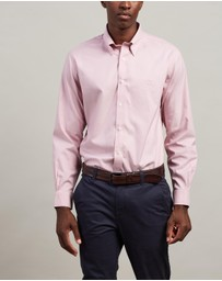 BROOKS BROTHERS - Pinpoint Yarn-dyed Regent Shirt
