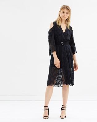 LIFEwithBIRD – Looking In Dress Broken Line Black Ink