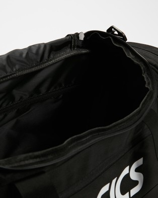 ASICS Duffle Bag Small   Unisex - Bags (Performance Black)