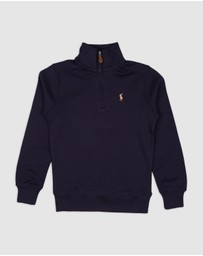 Polo Ralph Lauren - Half-Length Zip Sweater - Kids