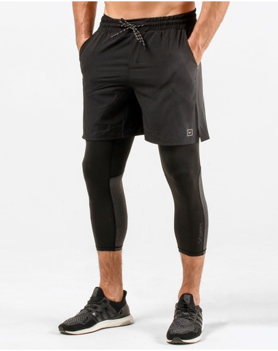 WPN. - Pacer 3/4 Compression Tights