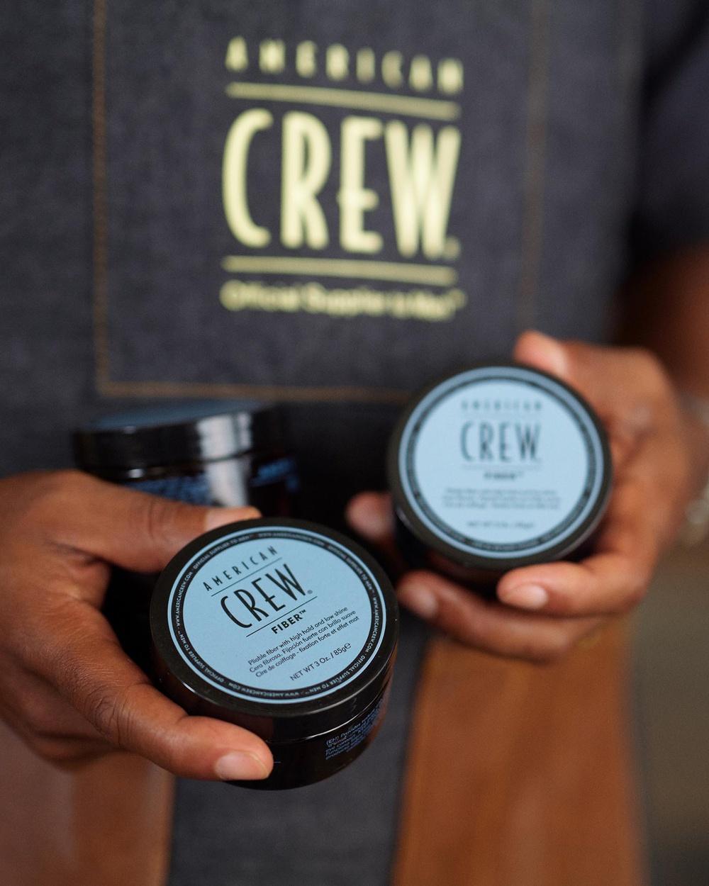 American Crew Classic Fiber 3oz 85g Beauty Brown & Black 3oz-85g