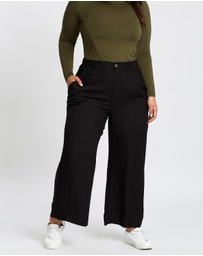 Cotton On - Curve Wide Drape Pants