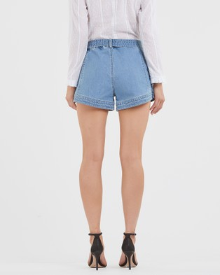 Amelius Rory Denim Shorts Blue